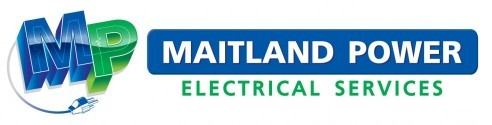 The logo for Maitland Power Electrical Services Maitland