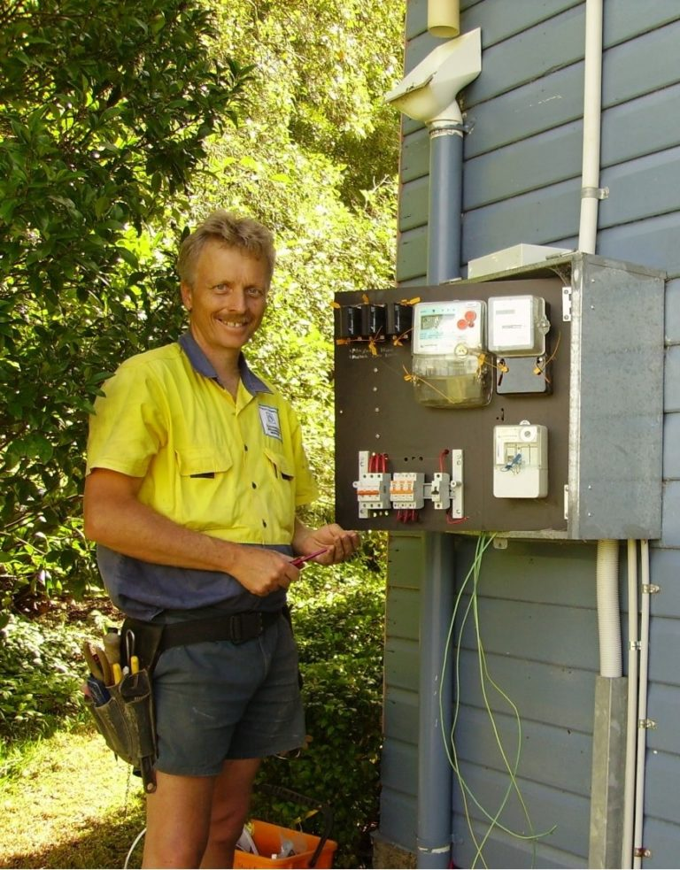 A photo of Maitland Power Electrical Services owner Stuart Power