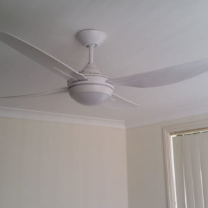 A photo of a new ceiling fan