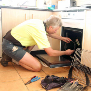 We repair kitchen cooking equipment