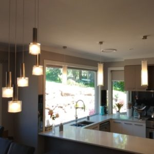 Recently Installed Pendant lighting